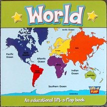 World (Lift-a-flap) [Board book] [Jan 01, 2008] The Clever Factory - $8.90