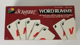 Scrabble Word Rummy Card Game 1987 Selchow Righter - $8.59