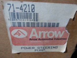 71-4210 GMC Power Steering Pump Remanufactured By Arrow Chevrolet 1983-85 image 2