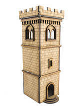 WWG Medieval Town Watchtower Outpost with Battlements – Fantasy Wargame ... - $28.99