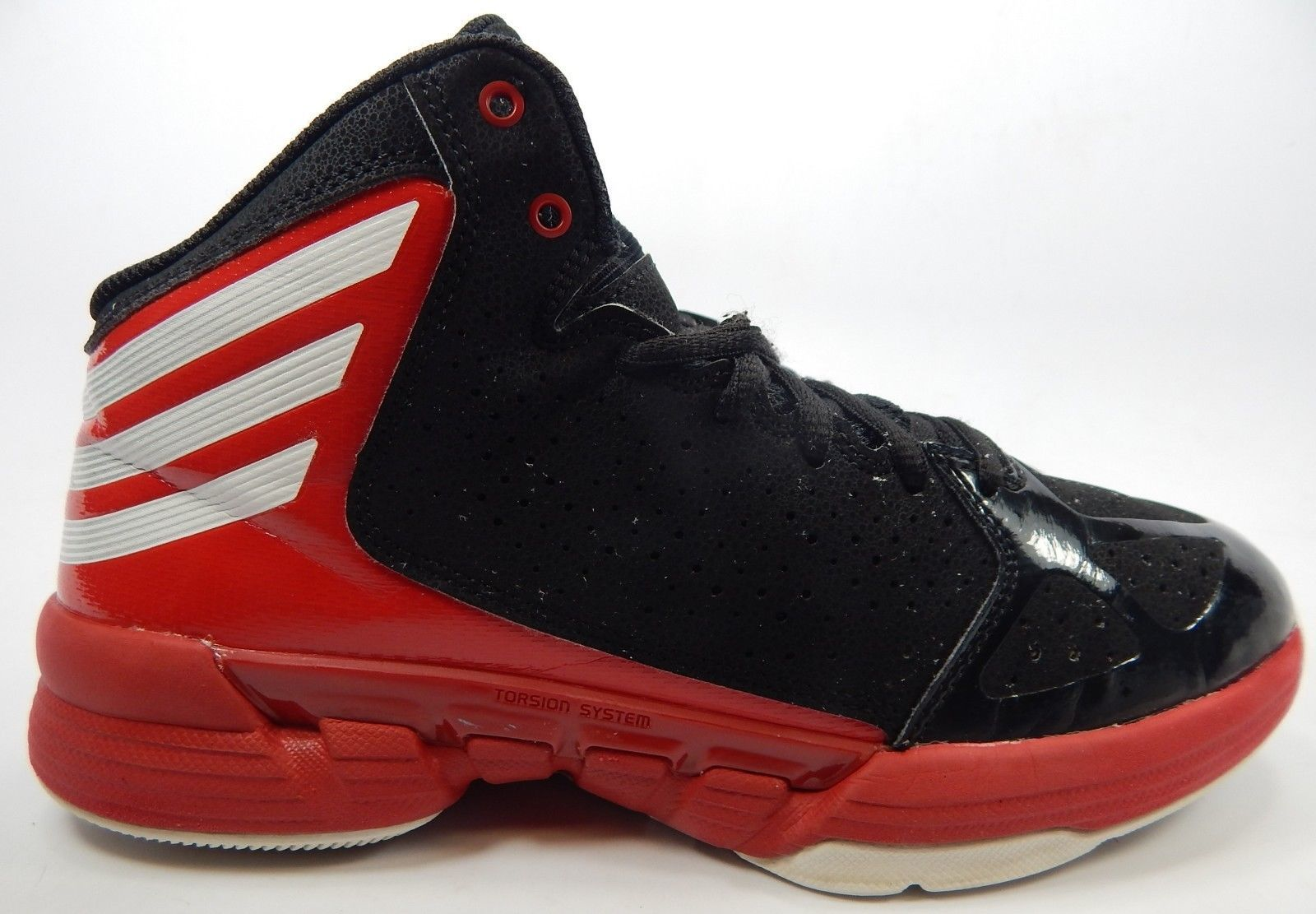 Adidas Hi-Court Size 6 M EU 38 2/3 Men's or Boy's Basketball Shoes Black Red