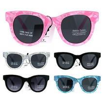 Girls Children Size Designer Style Horned Rim Retro Sunglasses - $9.95