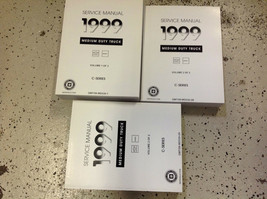1999 Chevy Gmc C Series Medium Truck Service Shop Repair Manual Set Factory New - $485.05