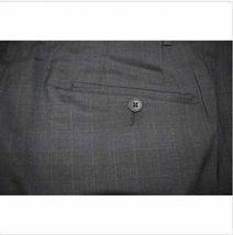 NWT Kirkland Signature Men's Wool Flat Front Dress Pants Slacks Charcoal image 3