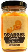 Oranges 6oz Victorian Square Glass Jar Soy Candle - Made with Essential ... - €12,99 EUR