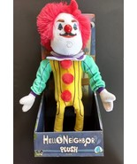 New in box Hello Neighbor plush creepy clown man doll free fast shipping - $21.77