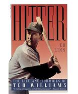 Hitter: The Life and Turmoils of Ted Williams [Paperback] Linn, Ed - $3.33