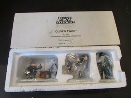 DEPT 56 55549 OLIVER TWIST SET OF 3 HERITAGE VILLAGE ACCESSORY L135 - $9.75