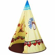 ALPIKA Kids Teepee Tent for Children to Play Indoor and Outdoor Toy Play... - $44.13