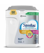 Similac Pro Advance Non-GMO HMO Infant Formula with Iron Powder 34oz EXP... - $23.74