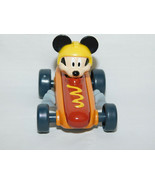 Disney Juniors Mickey Mouse Roadster Hot Dog Racers Car 2016 3 Inches - $3.99