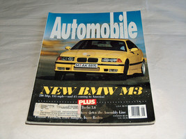 Automobile May 1993 Car Magazine New BMW M3 286 bhp 155 mph Coming To Am... - $9.43