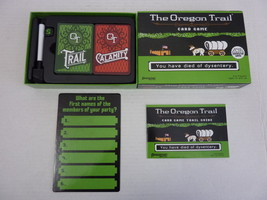 The Oregon Trail Card Game by Pressman Toy (Target Exclusive) 2016 Complete - $282,40 MXN