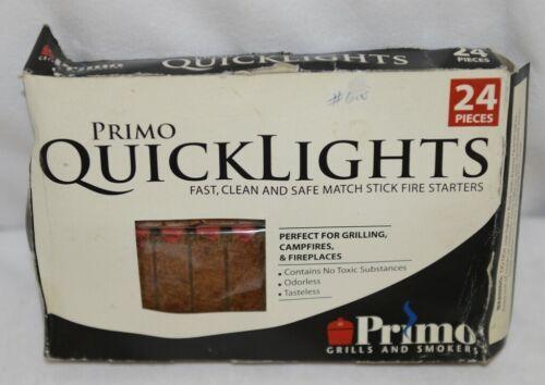 Primo 609 Quicklights Match Stick Fire Starters Odorless Tasteless