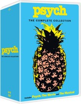 Psych The Complete Series Season 1 2 3 4 5 6 7 8 Collection DVD 1-8 Boxs... - $69.95