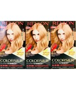 (3) Revlon Colorsilk Butter Cream 90 / 81N Light Natural Blonde All In O... - $24.74