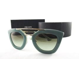 Prada SPR09Q TKQ-4K1 Eyewear Green Gold Sunglasses - $140.21