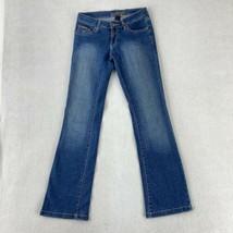 Southpole Jeans Women's 1 Blue Bootcut Leg Low Rise Cotton Blend Medium ... - $18.95
