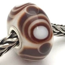 Authentic Trollbeads Carly 61344, Retired Glass Bead Charm, New - $23.74