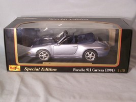 1994 Porsche 911 Carrera Cabriolet version 1:18 scale diecast Maisto Spe... - $45.08