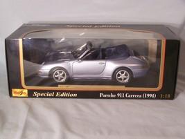1994 Porsche 911 Carrera Cabriolet version 1:18 scale diecast Maisto Special Ed. - $45.08