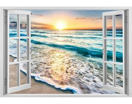 Impressive 3D Window Wall Decals, Removable Wall Stickers, Wall Decor - $28.89+