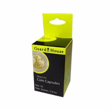 Direct Fit Air Tight Coin Capsules, 1/4 oz Gold Eagle by Guardhouse 22mm... - $6.90
