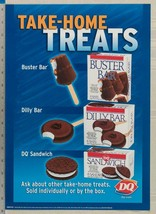 Dairy queen poster backlit plastic take home is buster bar 11x16 dq2 - $39.96