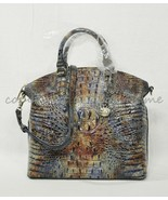 NWT Brahmin Large Duxbury Leather Satchel/Shoulder Bag Cedar Melbourne - $349.00