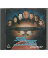"Star Trek The Next Generation ""A Final Unity"" CD-Rom by Spectrum HoloByte - $20.42"