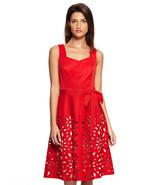 NWT WOMEN NUE BY SHANI  Laser Cut Fit & Flare  Dress 2 & 4  $231 - $129.99