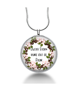 Every Storm runs out of RAIN necklace - encouragement - quotes, inspirat... - $18.32