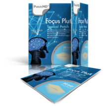 PatchMD Focus Plus - Topical Patch (30 Day Supply) - EXP 2022 - $21.33