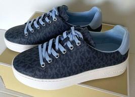 Nuovo Michael Kors Papavero con Lacci Mk Logo Sneakers Taglia US 6 Luce ... - $102.91