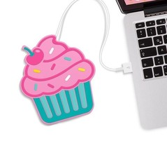 Cupcake Shaped Usb Powered Cup Warmer Insulation Coffee Mats Placemat Cu... - £15.89 GBP
