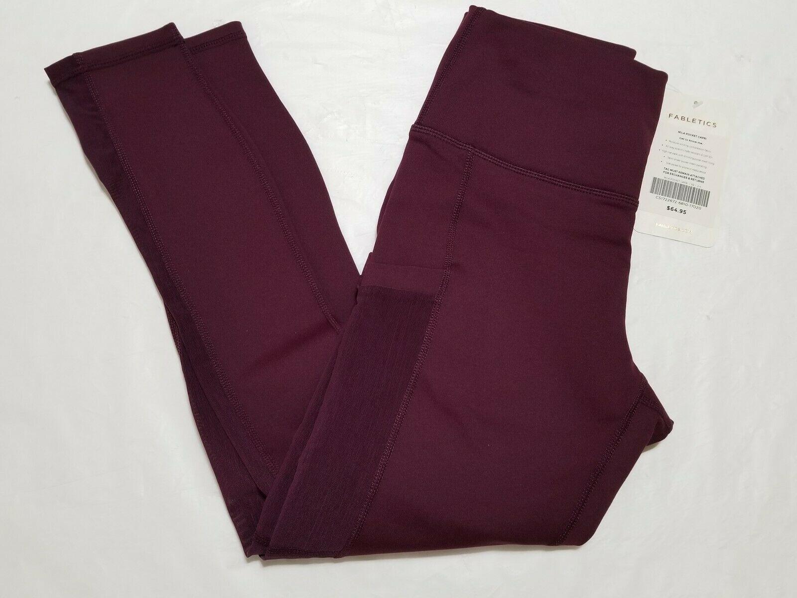 Fabletics Mila Pocket Capri Leggings Size XS NWT