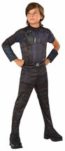Hawkeye Marvel Superhero Captain America Civil War Movie Halloween Child Costume - $32.45