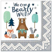 Baby Shower 'We Can Bear-ly Wait' Lunch Napkins (16ct) - $13.22
