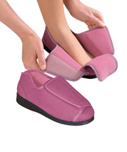 Womens Extra Wide Adaptive Deep Diabetic & Edema Slippers bySilvert's,Si... - £38.92 GBP
