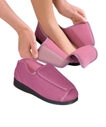 Womens Extra Wide Adaptive Deep Diabetic & Edema Slippers bySilvert's,Si... - $54.99
