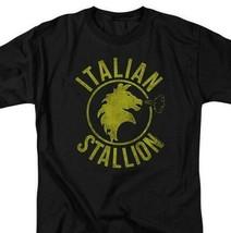 The Italian Stallion Rock Balboa Philadelphia Boxer Tee Retro 70s 80s MGM209 image 2