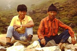 35mm Slide Annapurna Sanctuary Nepal Local Nepalese Men (#22) - $4.75