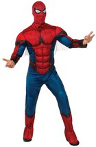 Rubie's Costume Deluxe Spiderman Mens Costume Spider-man: Homecoming Extra-Large - $44.02