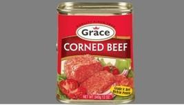 Grace Corned Beef 340g each - (3 Tins) - $29.69