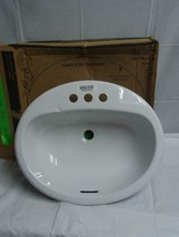 New American Standard Bathroom Sink #0222/0200 Ovation Colony - $79.19