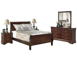 Ashley Alisdair 5PC Bedroom Set Cal King Sleigh Bed - Brown - $1,780.19