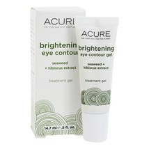 ACURE Brightening Eye Contour Gel Seaweed + Hibiscus Extract, 0.5 Ounces - $21.95