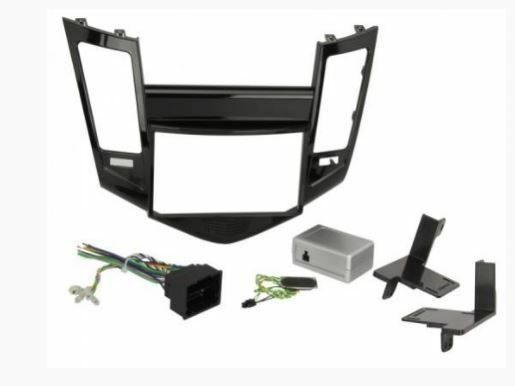 NEW SCOSCHE GM5203B SINGLE/DOUBLE DIN DASH INSTALLATION KIT FOR 2011 BUICK REGAL