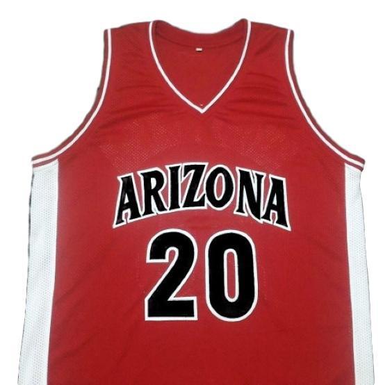 Damon stoudamire college basketball jersey red  1