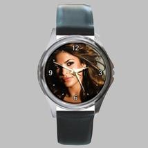 Round Metal Unisex Watch Highest Quality Eva Mendes - $23.99